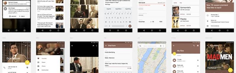 Шаблон Android-приложения — Sepia UI Kit