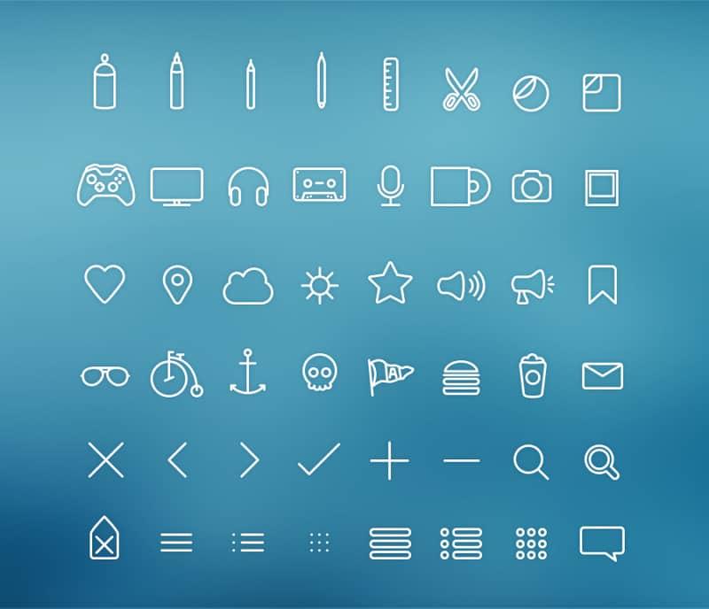 48-hangloose-iconset