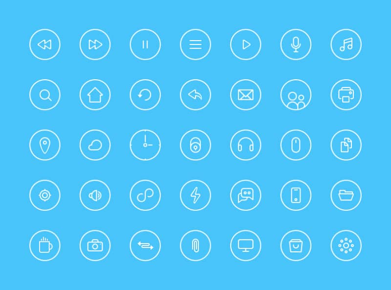 thin-rounded-icons