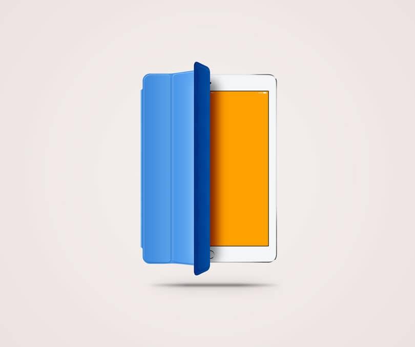Скачать восхитительный макет iPad Air
