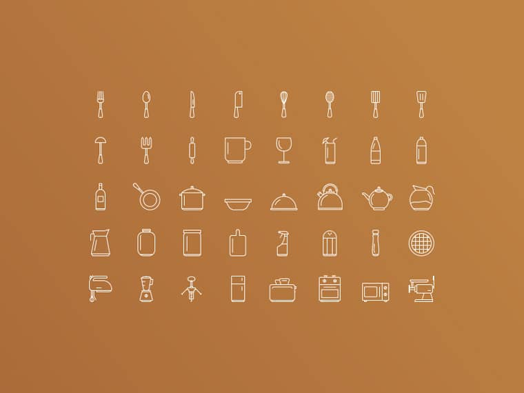 kitchen_tools_icons_set_preview