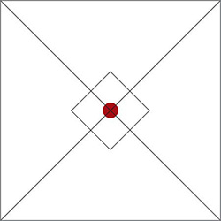 Геометрический центр композиции